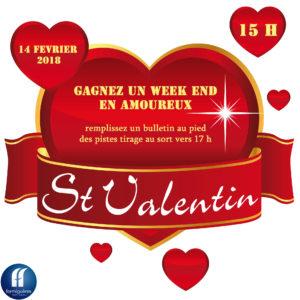 ST VALENTIN @ STATION DE SKI LA CALMAZEILLE | Formiguères | Occitanie | France
