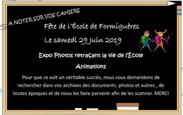 Grande fête de l'école de Formiguères Samedi 29 juin