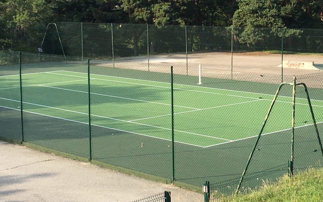 Ouverture du nouveau terrain de tennis samedi 27 juillet !
